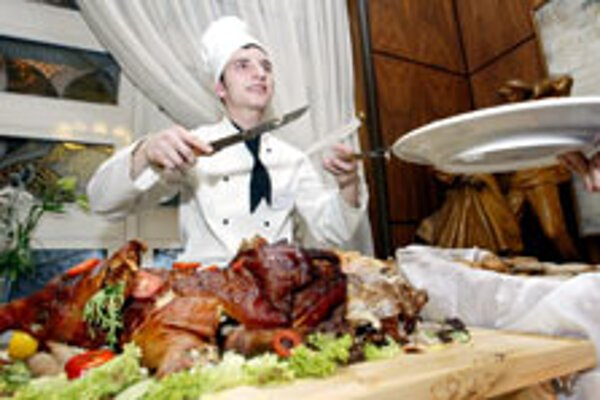 Slovaks often work as waiters and cooks abroad.