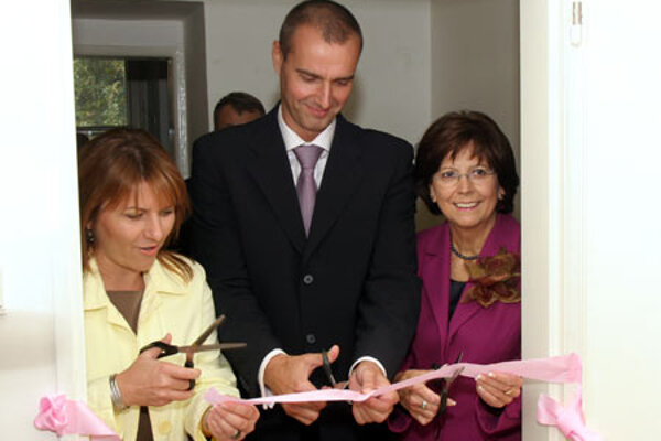 Opening of Place of first contact in Mickiewiczova Hospital
