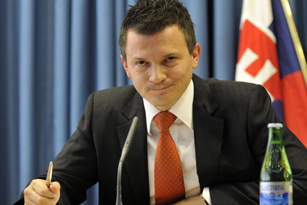 """Finance Minister Ján Počiatek, after the prime minister  had described his actions as """"immoral""""."""