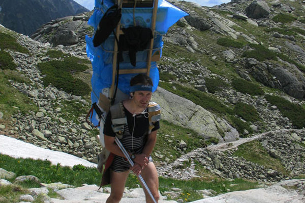 Being a mountain porter is not as much a sport as a philosophy.
