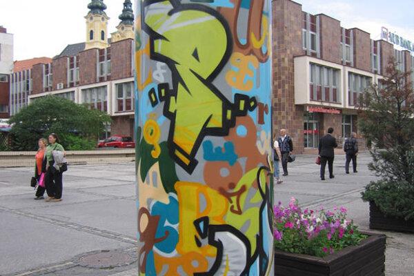 Graffiti in Nitra.