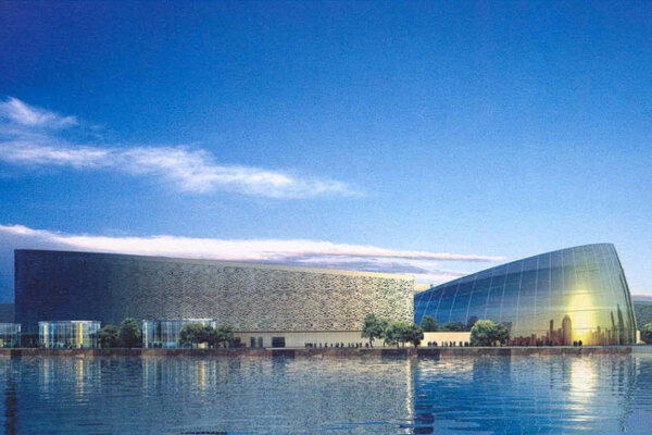 The SND Ballet performed in the Sciences and Cultural Arts Centre in Suzhou.