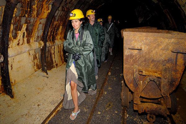 Kremnica has a new underground mining museum.