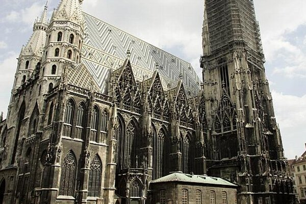 Vienna's St. Stephen's cathedral.
