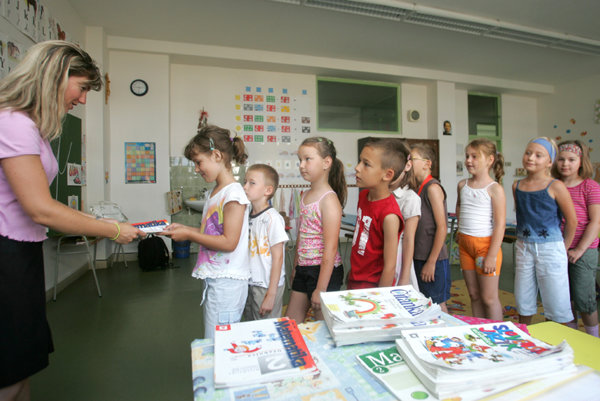 """""""There are now only around 50,000 first-graders in Slovakia."""""""
