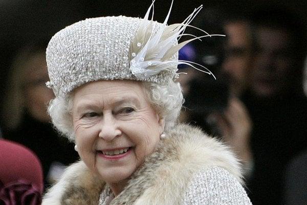 Britain's Queen Elizabeth II charmed Slovakia.