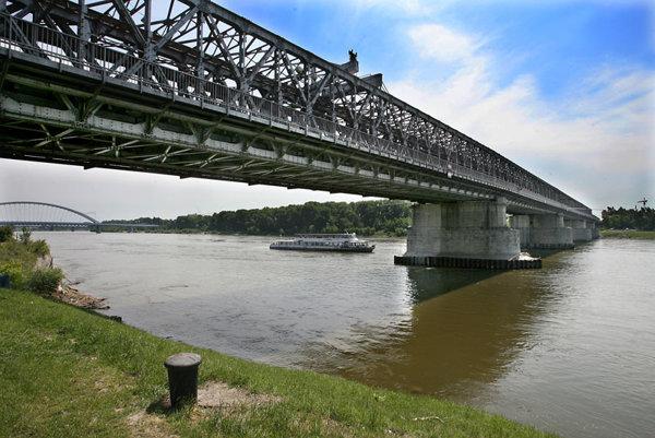 The Old Bridge is Bratislava's only pre-war bridge over the Danube.