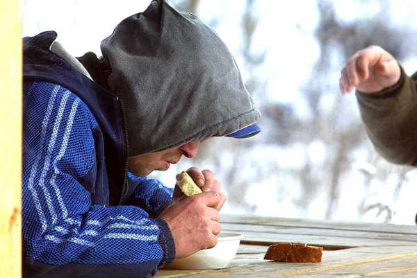 A hard winter is dangerous for the homeless.