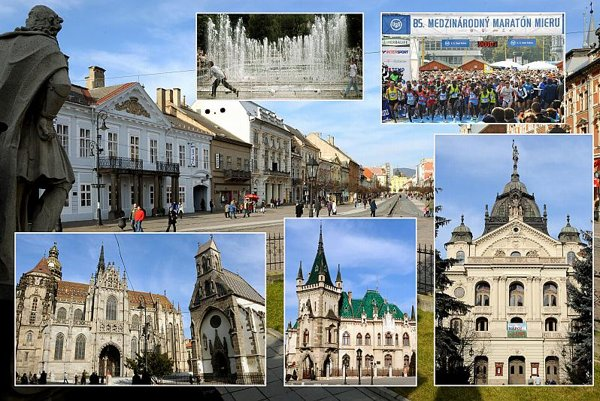 Košice is a historical town full of sights and monuments.