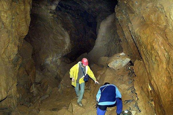 The Demänovská Ice Cave