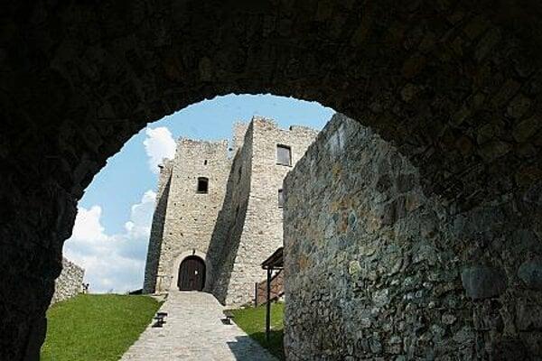 Strečno Castle is a popular tourist destination.