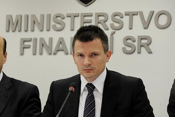 Finance Minister Ján Počiatek