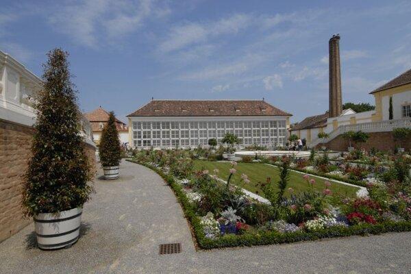 Prince Eugene's Orangerie in Schloss Hoff.