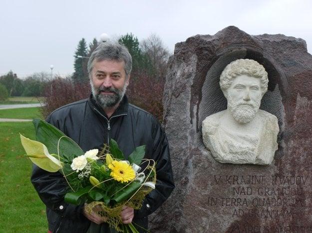 Sculptor Štefan Svítek