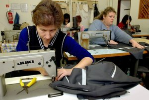 Workers at some textile companies get paid the minimum monthly wage and will appreciate an increase in 2010.