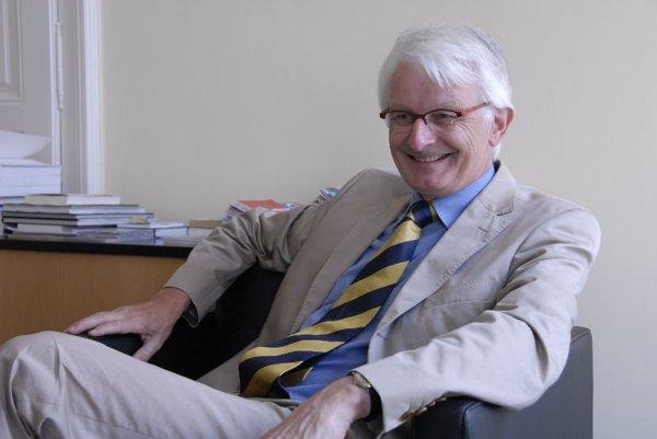 Josef Aregger, Switzerland's ambassador to Slovakia.