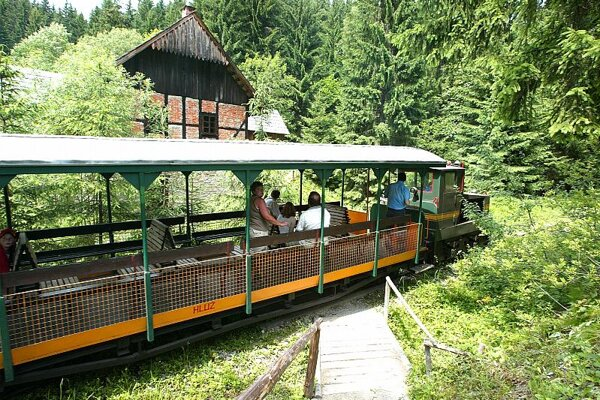 Vychylovka's historical back-swath railway