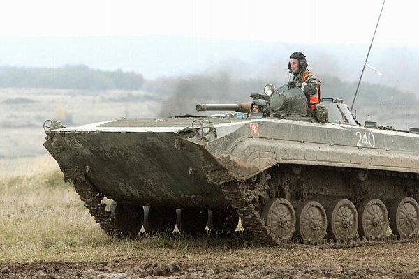 The Slovak army's hardware is ageing.