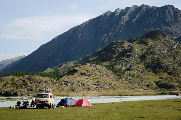 A scene from Pavol Barabáš's Mongolia.
