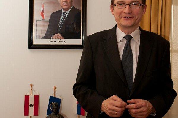 Austrian Ambassador Markus Wuketich
