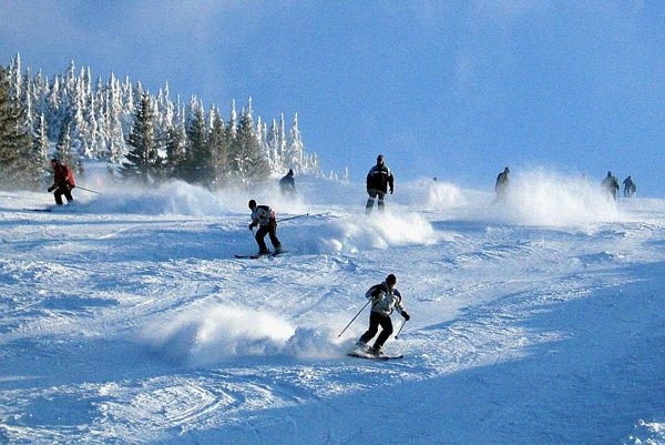 Politicians might take to the slopes to reach voters.