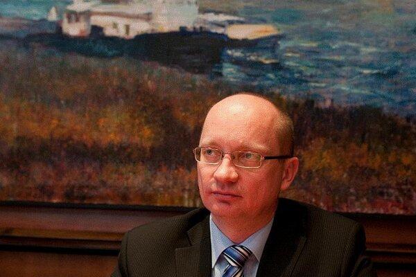 Robert Redhammer, the rector of STU in Bratislava.