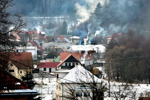 Some locales, like this village in central Slovakia, have difficulty getting web access.