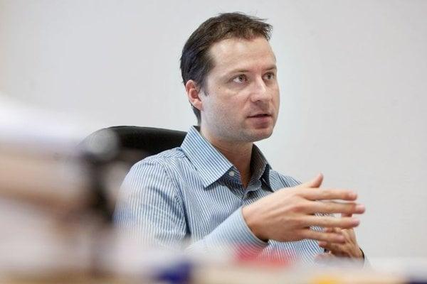 TIS director Gabriel Šípoš.