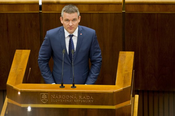 Vice prime minister for investments Peter Pellegrini