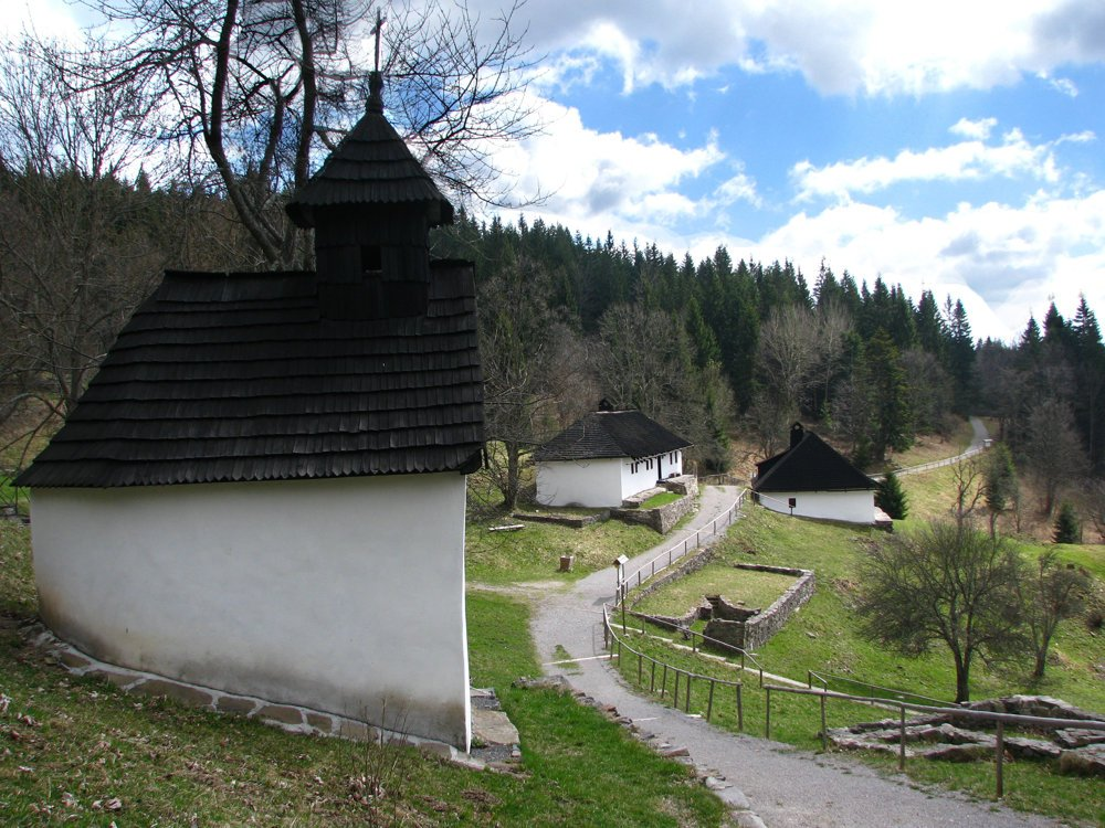 Kalište, one of 102 villages destroyed by the Nazis.