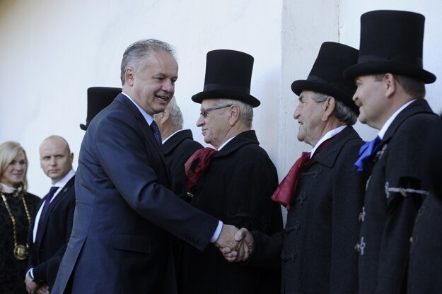 President Andrej Kiska participated in the celebration