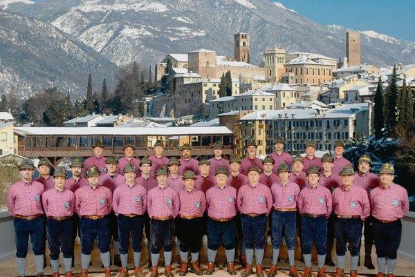 The Edelweiss A.N.A. Monte Grappa choir.