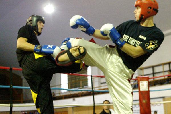 Kickboxing, illustrative stock photo