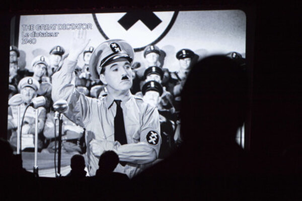 Film Dictator by Charlie Chaplin is also screened.