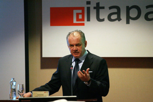 President Andrej Kiska at the ITAPA congress