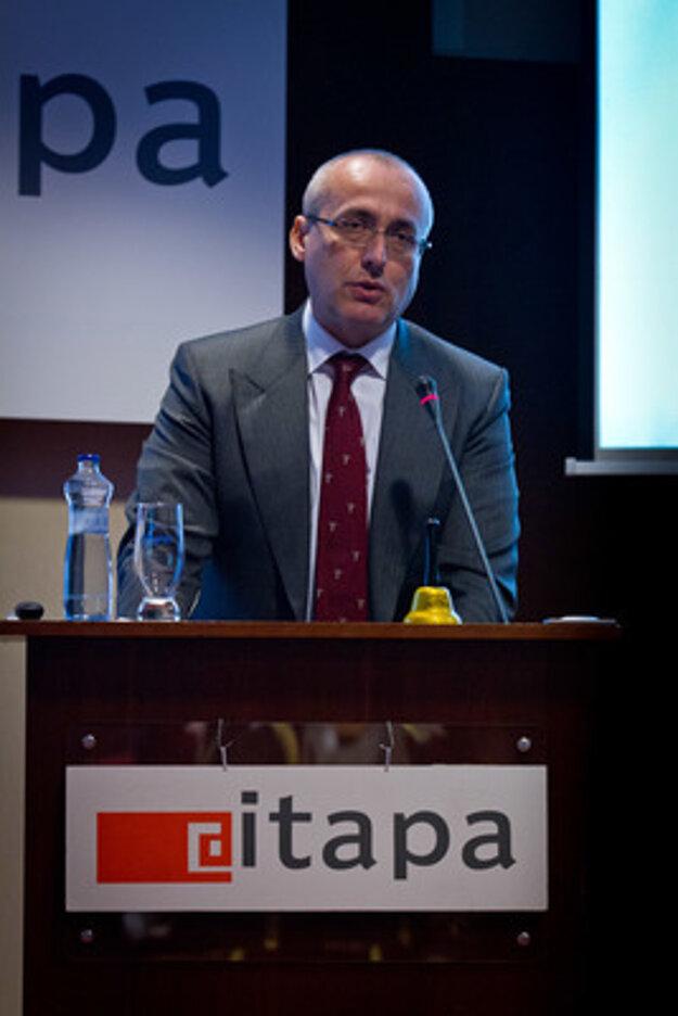 Justice Minister Tomáš Borec