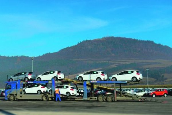 More cars roll off the lines in Slovakia.