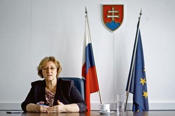 Ombuds woman Jana Dubovcová.