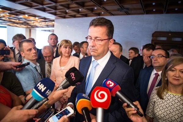 Smer parliamentary caucus chairman Martin Glváč