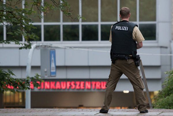 The shooting in munich, at a shopping centre.