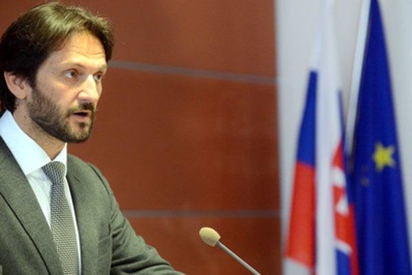 Slovak Interior Minister Robert Kaliňák