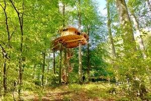 The tree-house at Kačín