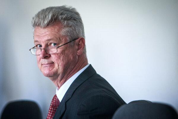 Former education minister László Szigeti.