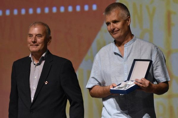 Pavol Barabáš also got a prize for Freedom under Load at the Slovak Cinematik festival in Piešťany.