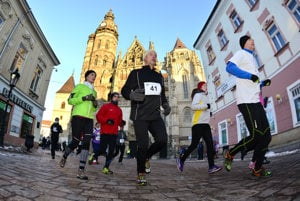 Epiphany Run on January 6, Košice.