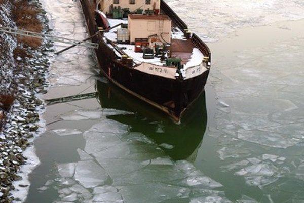 Icebreaker Breno in Bratislava