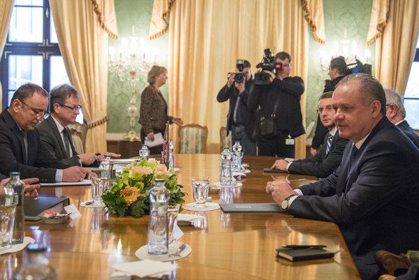 President Andrej Kiska met with representatives of Venice Commission.