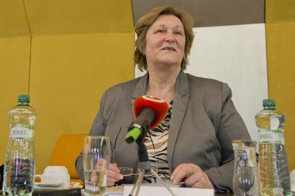 Incumbent Ombudswoman Jana Dubovcová