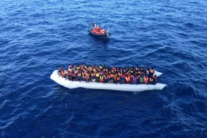 Migration crisis was one of causes for the rise in conspiracies and fake or hybrid news; illustrative stock photo