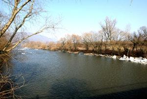 The Hron river